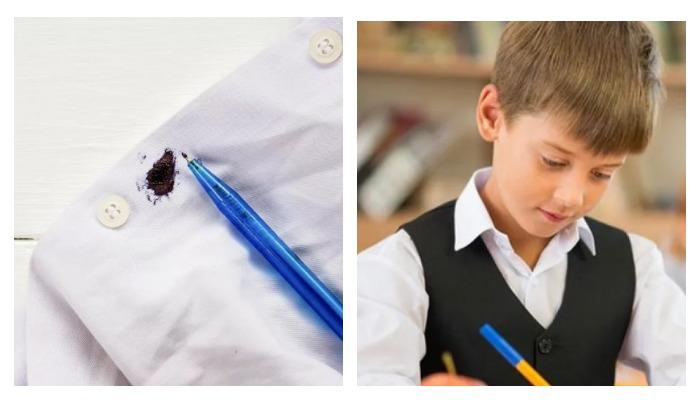 Ребенок с ручкой