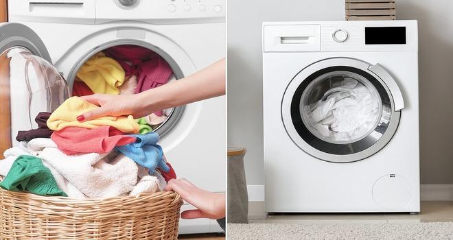 Две стиральные машинки