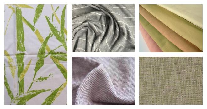 Разные виды бамбуковых тканей