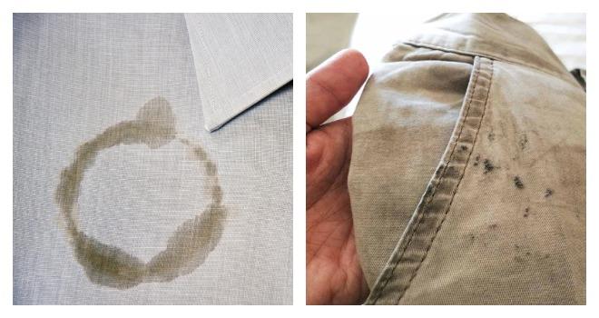 Отпечатки на ткани