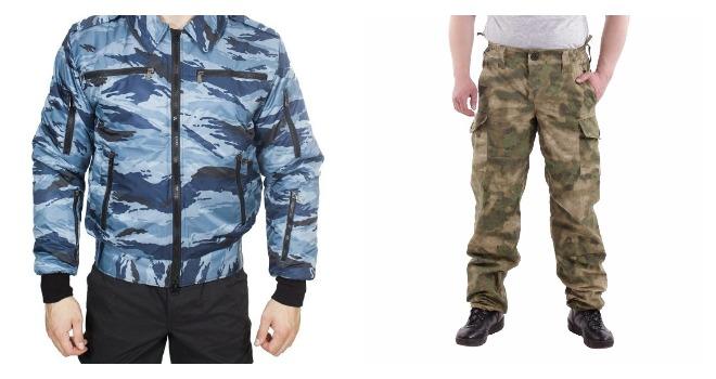 Применение ткани в одежде