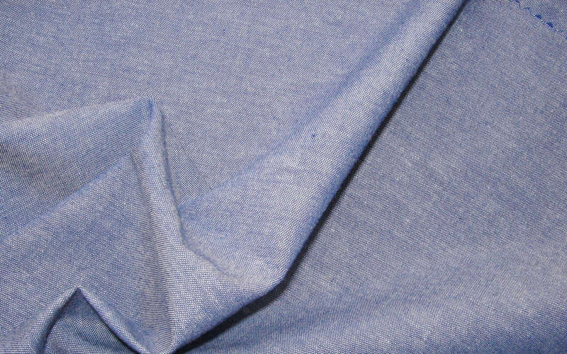 Ткань шамбре вблизи
