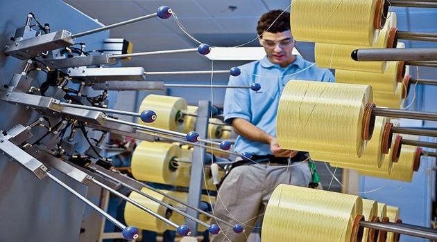 Производство кевларовой нити