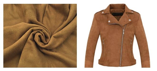 Куртка из замши