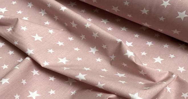 Ткань в звездочку