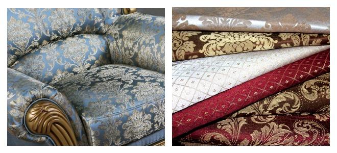 Жаккардовая ткань для мебели