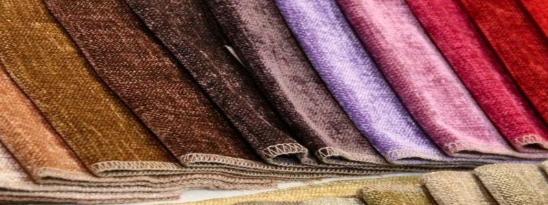 Образцы ткани шенилл
