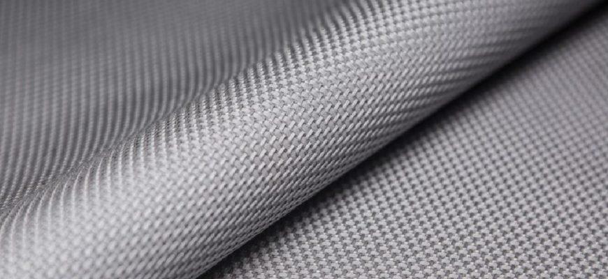 Ткань из базальтового волокна вблизи