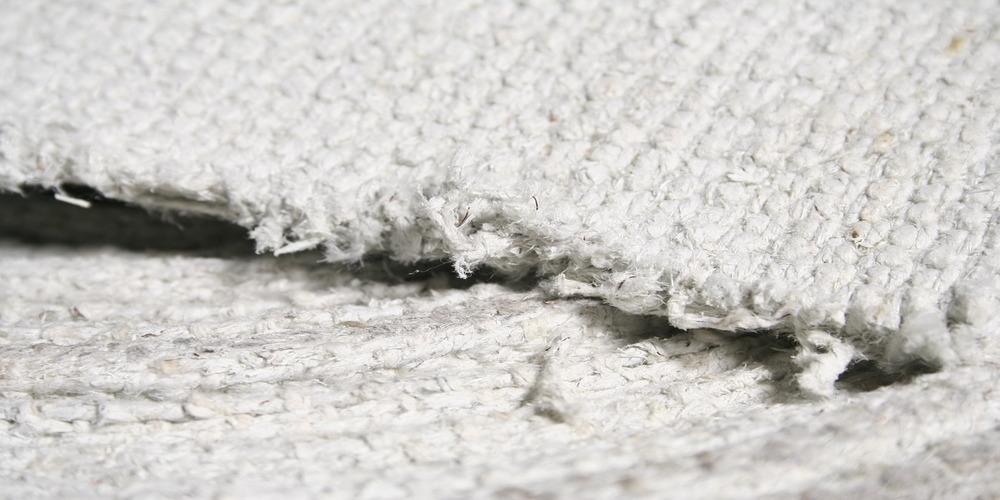 Асбестовая ткань вблизи