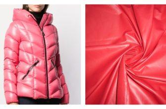 Куртка из ткани болонья