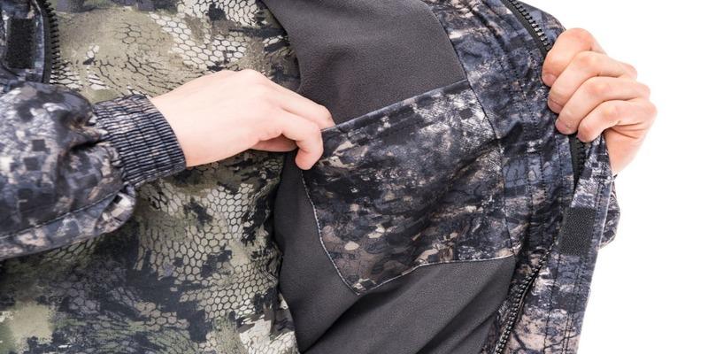 Куртка из ткани алова