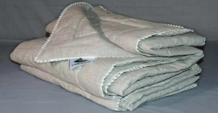 Одеяло изо льна