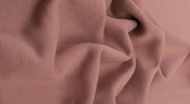 Футер пенье розового цвета