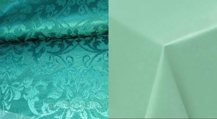 Ткань журавинка в двух видах