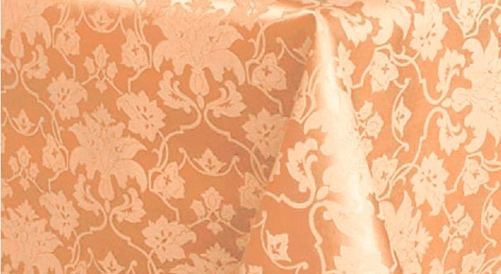 Ткань журавинка — узор на персике