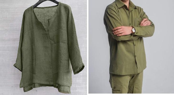 Одежда из волокон конопли