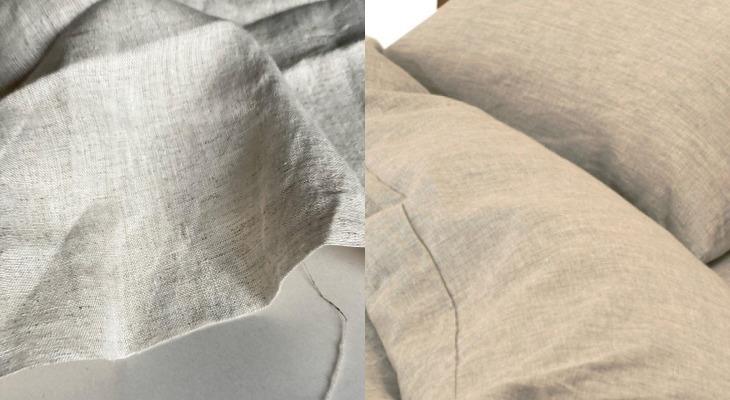 Постельное белье из конопляной ткани