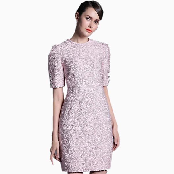 Платье из кримплена