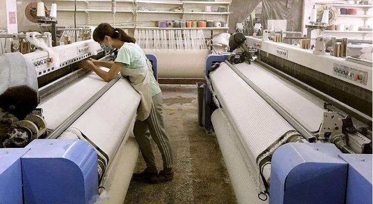 Производство ткани из конопли