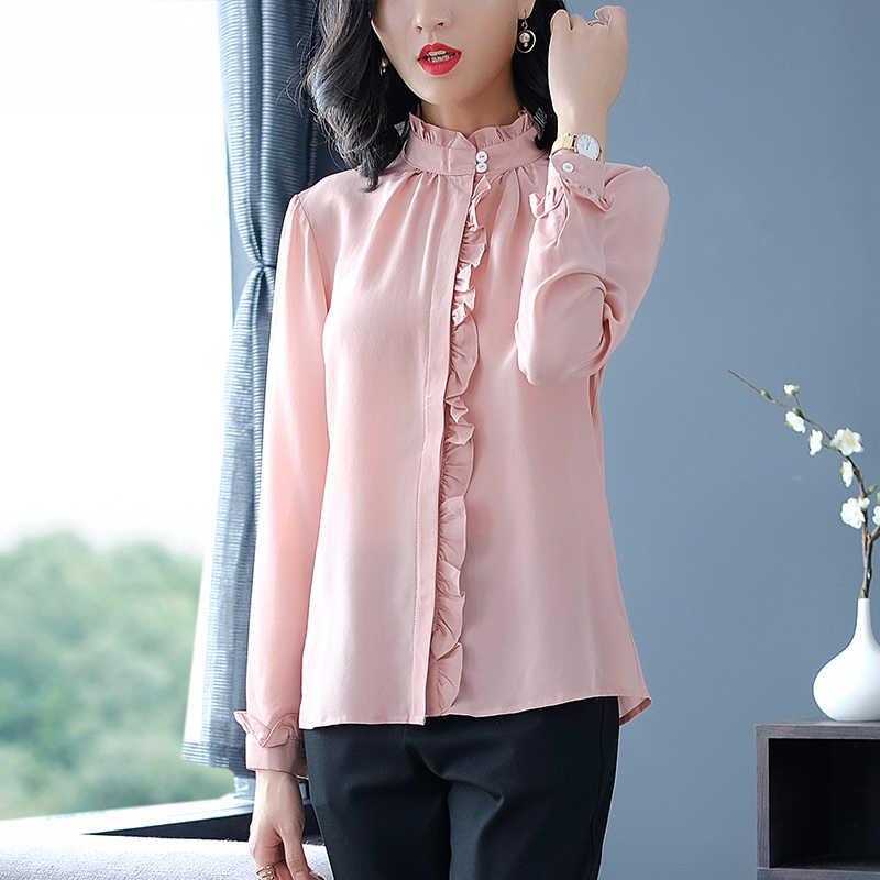 Блузка из ткани прадо