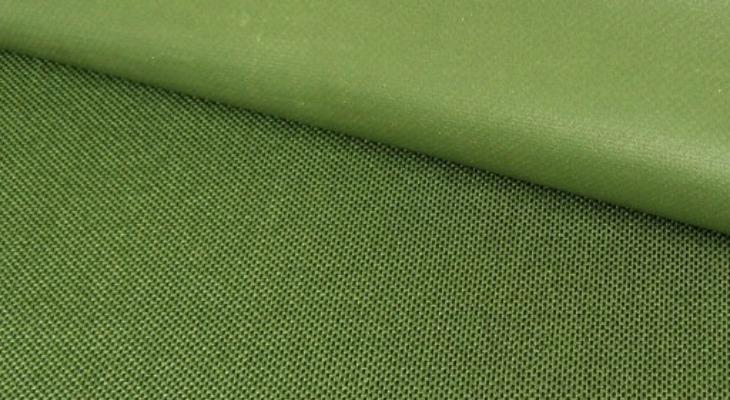 Ткань кордура зеленого цвета