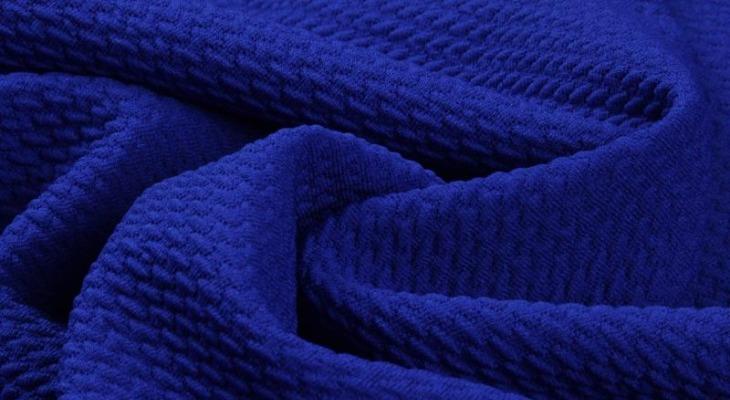 Ткань кукуруза, цвет — электрик
