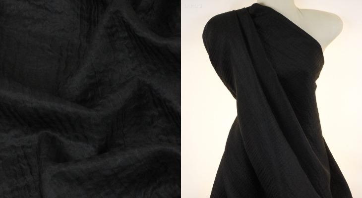 Платье из ткани клоке