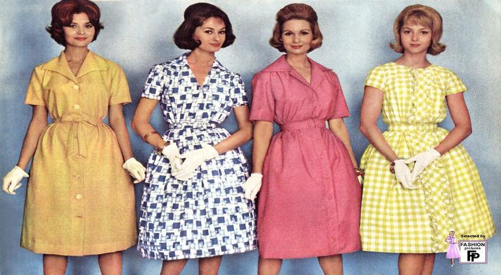 Женские платья из СССР