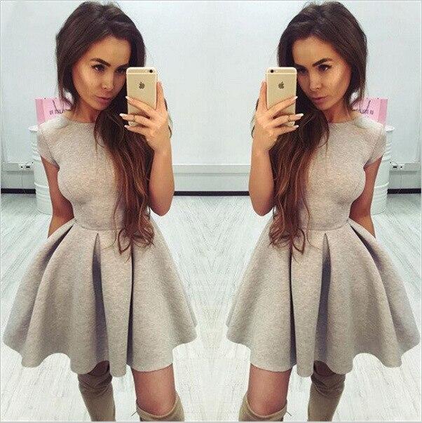 Платье из молочной скубы
