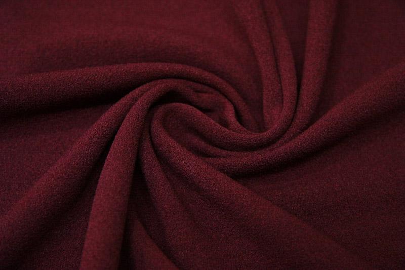 Креп-скуба — бордовая
