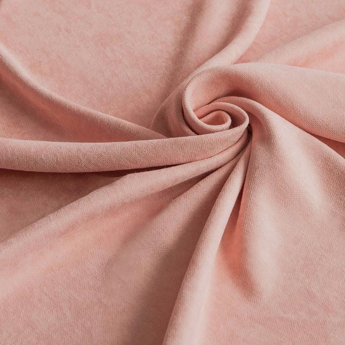 Ткань софт шторный — персик