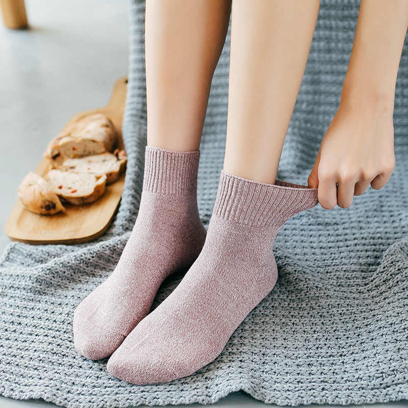 Носки из ткани чесаный хлопок