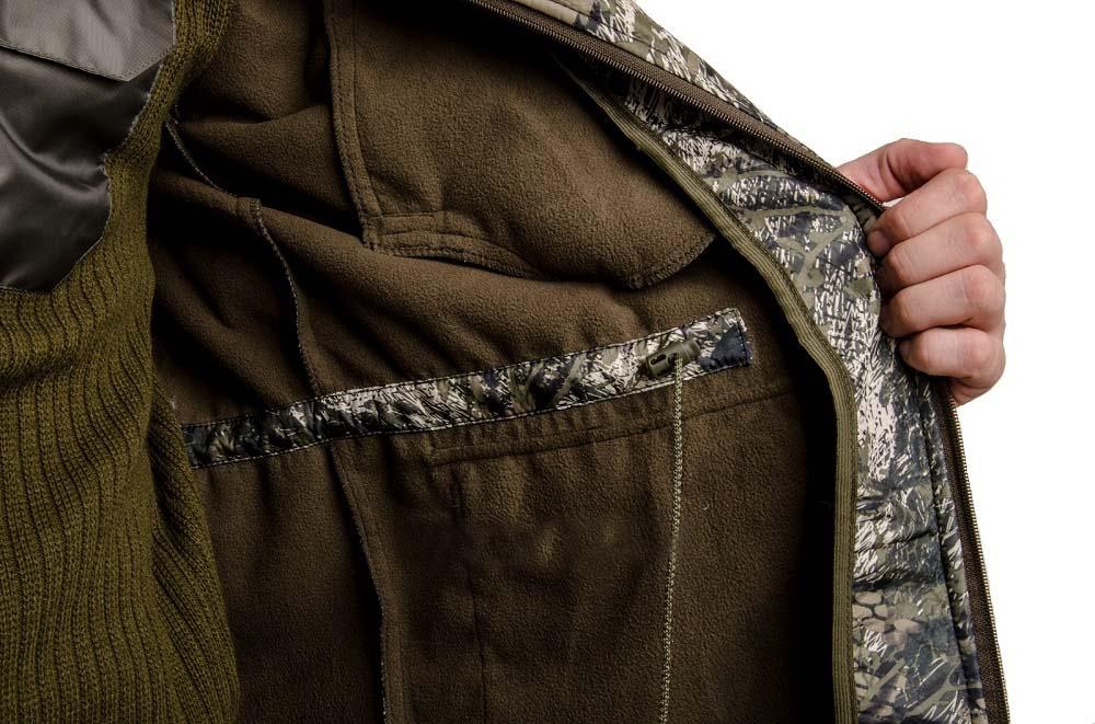 Куртка из ткани полофлис