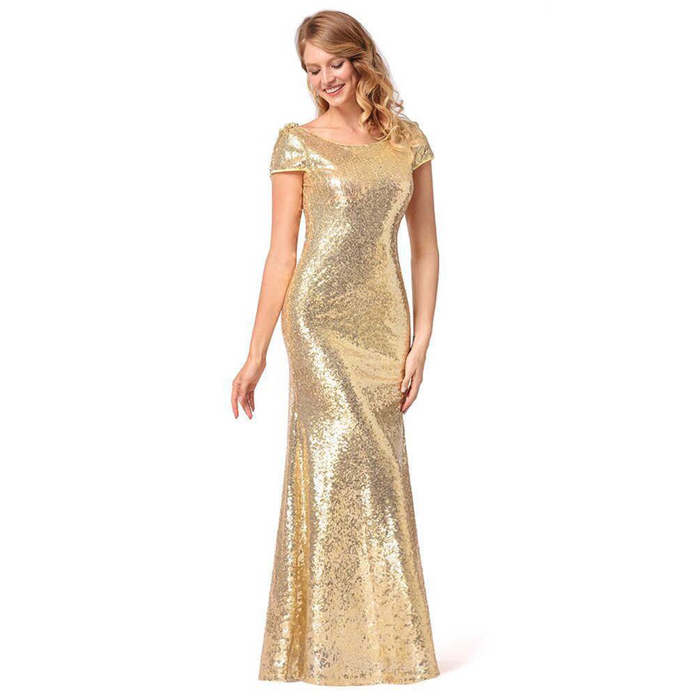 Платье в пол из ткани ламе