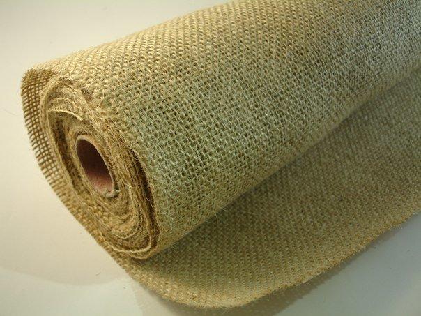 Ткань мешковина в рулоне