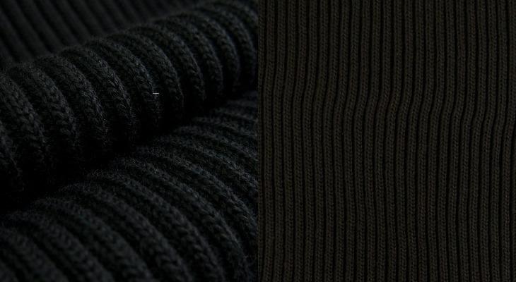 Ткань лапша крупновязанная