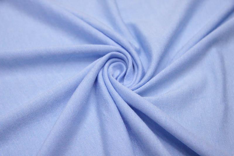 Ткань памук цвет голубой
