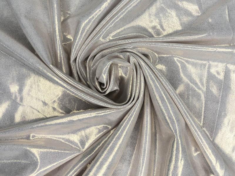 Ткань ламе серебро