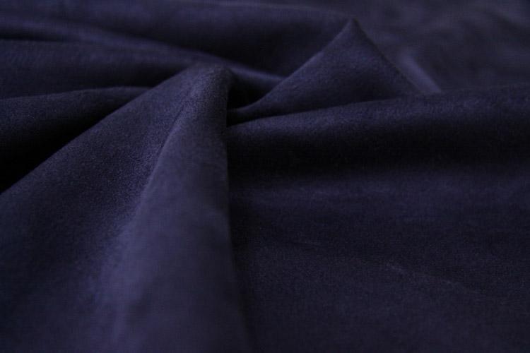 Микровелюр синий