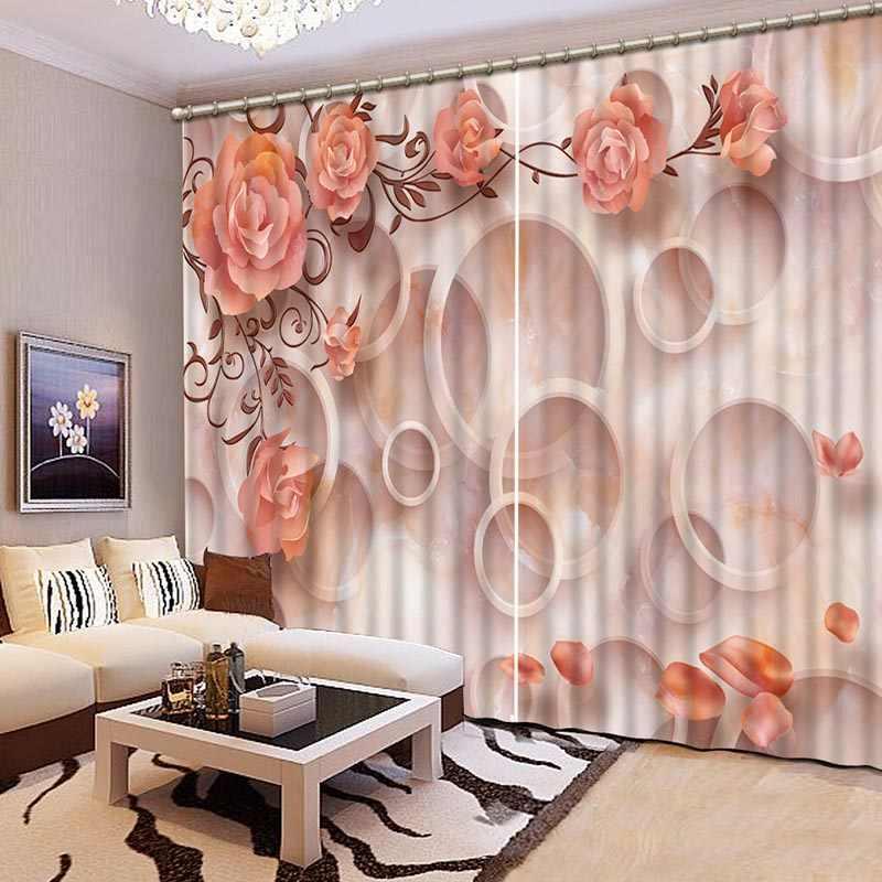 Ткань софт 3Д шторы