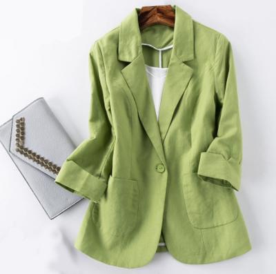 Пиджак изо льна
