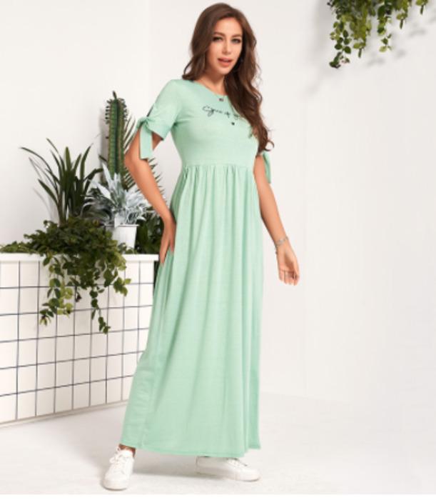 Платье из ткани Тиффани