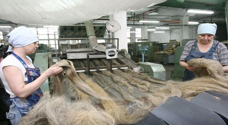 Производство льяной ткани