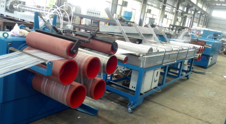 Производство полиуретанового волокна