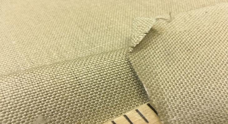 Ткань грубый лен
