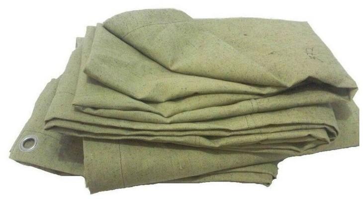 Тент из ткани парусина