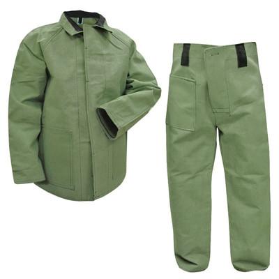 Защитный костюм из парусины
