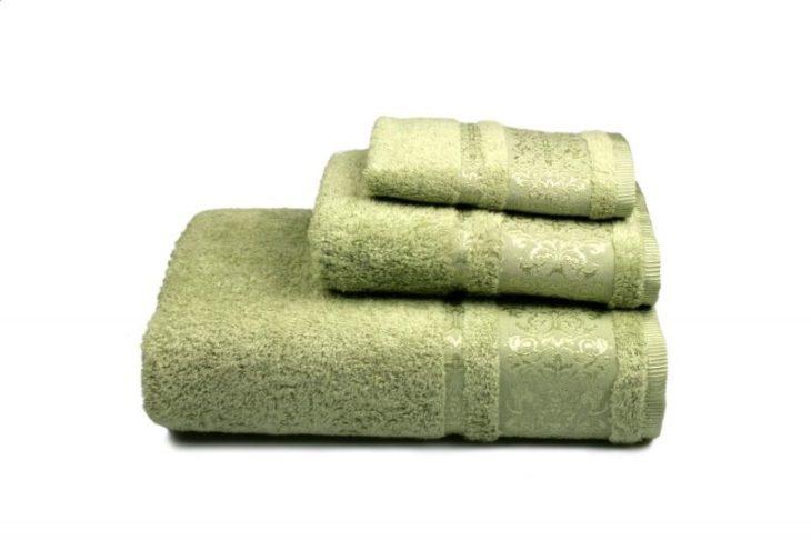 махровое полотенце с рисунком