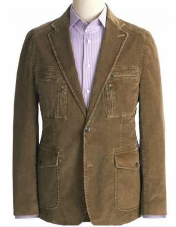 Мужской пиджак из вельвета