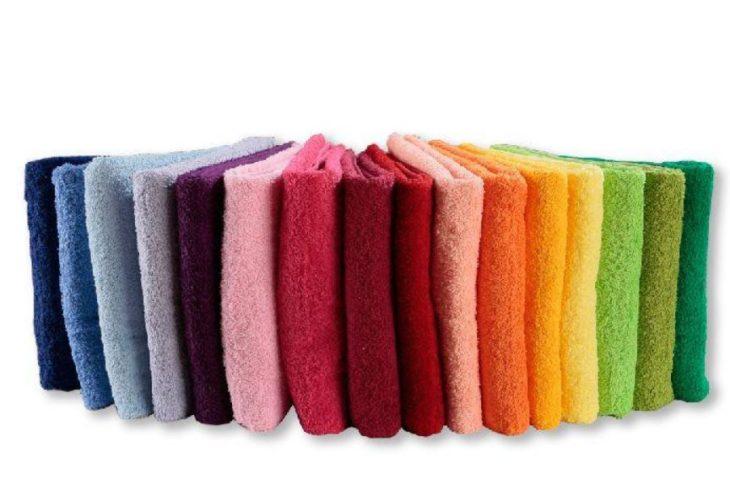 Оттенки махровой ткани